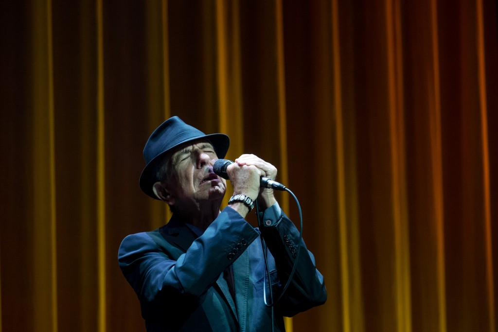 Leonard Cohen in Perth, Australia, November 2013. Photo: Adrian Thomson / flickr