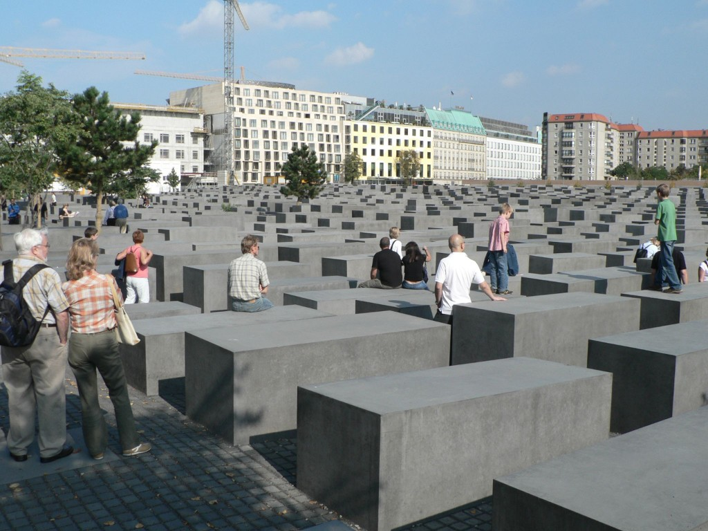 The Memorial to the Murdered Jews of Europe, in Berlin. Photo: Mark Fosh / Wikimedia