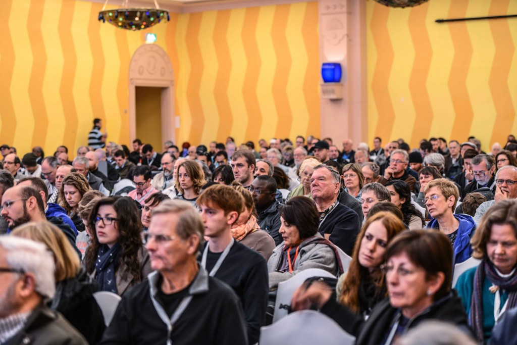 Over 600 people attended the 2014 Christ at the Checkpoint conference in Bethlehem. Photo: Aviram Valdman / The Tower