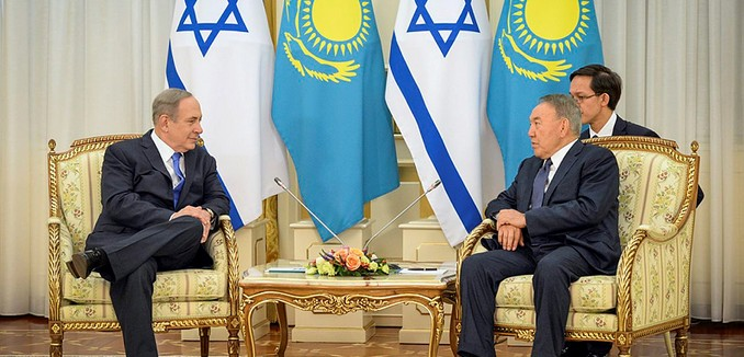 featuredimage_2016-12-14_flash90_netanyahu_nazarbayev_f161214hzgpo06