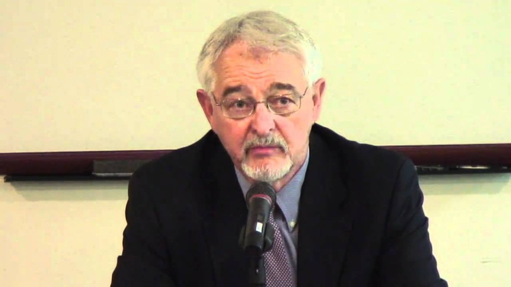 Tom Getman speaks at Georgetown University's Berkley Center for Religion, Peace and World Affairs. Photo: YouTube
