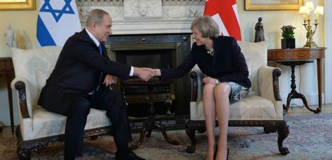 Theresa May, Netanyahu, UK, U.K., United Kingdom, Britain