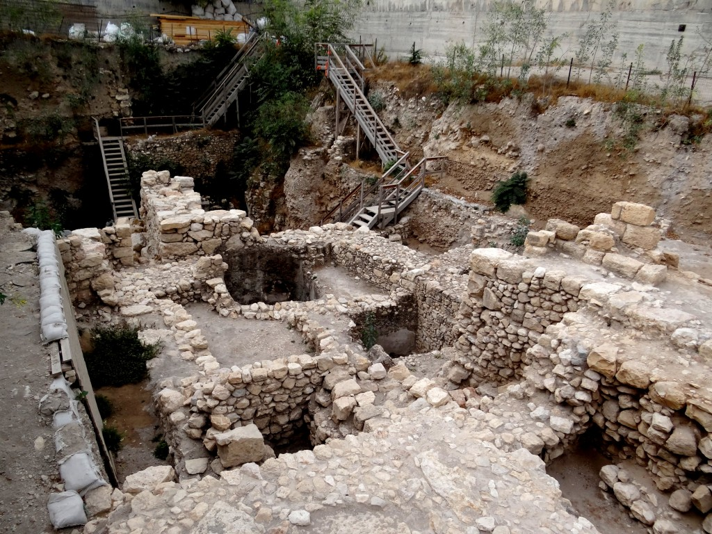 Excavations in the City of David, Jerusalem. Photo: Hanay / Wikimedia