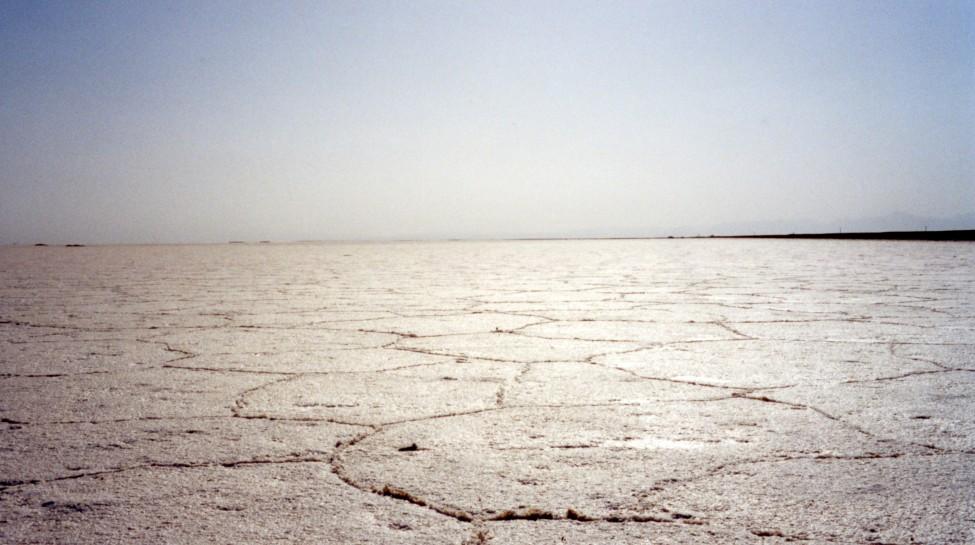 Dasht-e Kavir, Iran's Great Salt Desert. Photo: Jeanne Menj / Wikimedia