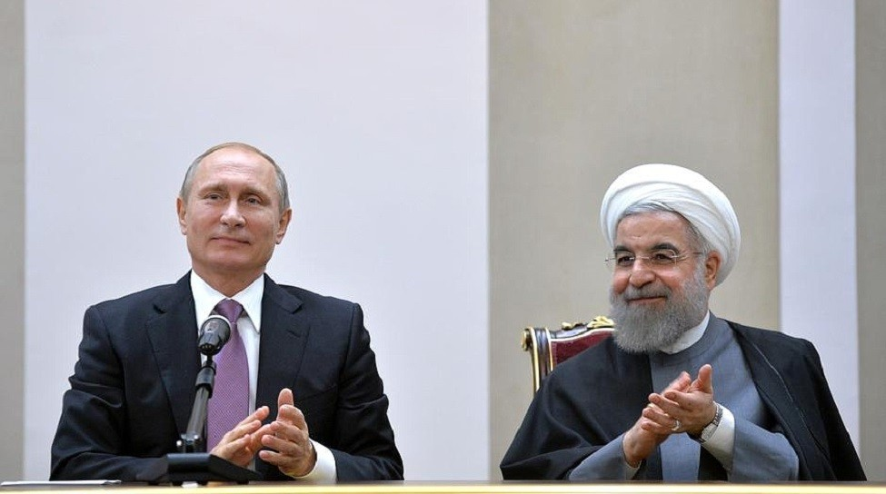 Russian President Vladimir Putin and Iranian President Hassan Rouhani meet in Tehran, November 2015. Photo: Kremlin.ru