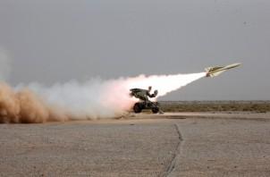 Shalamcheh Missiles from Mersad Shield Fars