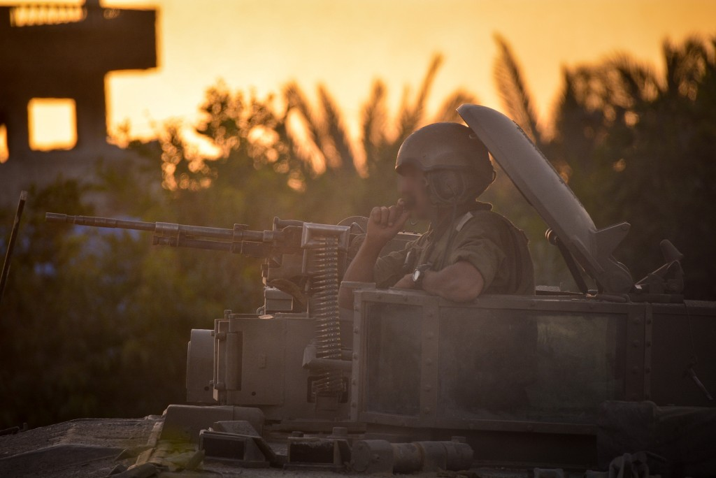 Israeli soldiers operating in Gaza as part of Operation Protective Edge. Photo: Israel Defense Forces