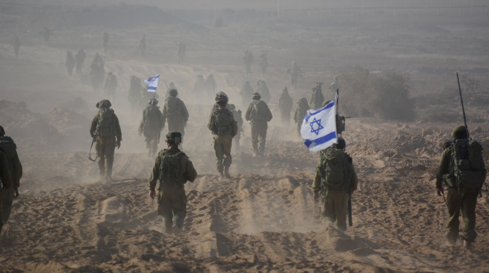 Israeli soldiers operating in Gaza during Operation Protective Edge. Photo: Israel Defense Forces