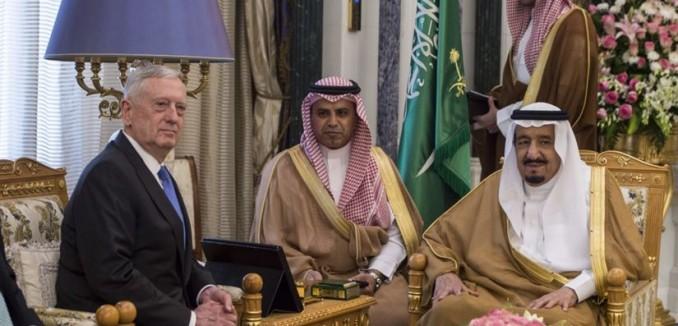 Mattis in Saudi