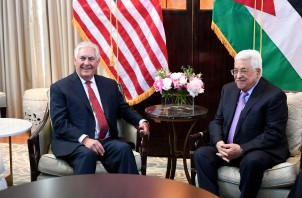 Tillerson, Abbas, Photo: State Department