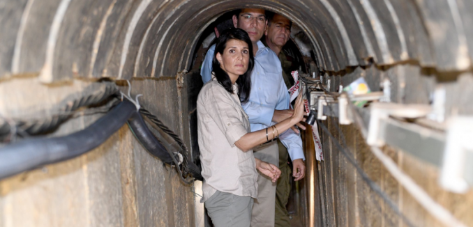 nikki haley tunnels