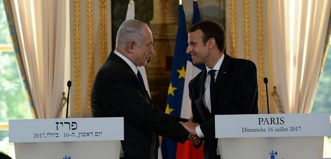 FeaturedImage_2015-10-21_Facebook_Netanyahu_Macron