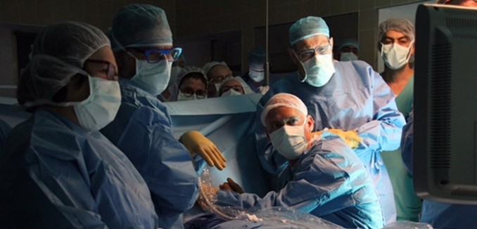 Israeli Doctors Perform Revolutionary In-Utero Heart Surgery