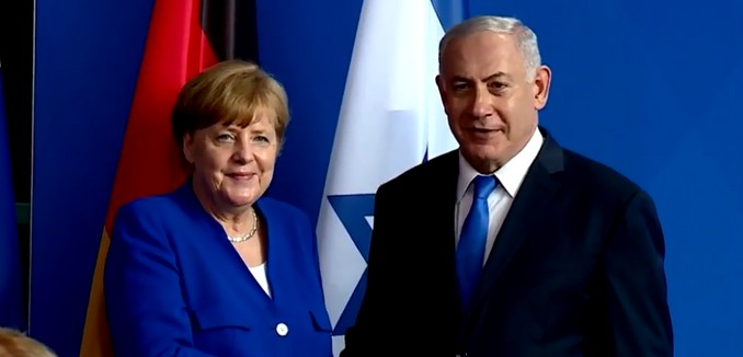 FeaturedImage_2018-06-04_130417_YouTube_Merkel_Netanyahu