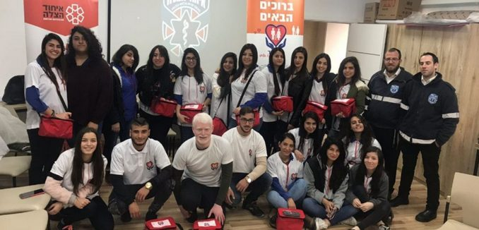 Druze Teens Get EMT Training, Treat Elders as Part of Their