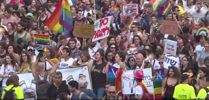 Thousands Participate in Jerusalem's Largest Ever LGBTQ