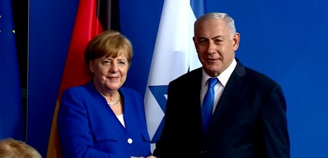 FeaturedImage_2018-10-03_130249_YouTube_Merkel_Netanyahu