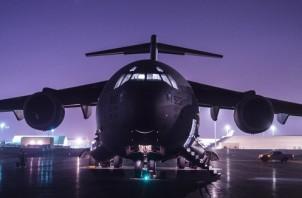 816th EAS Moves Cargo through Syria