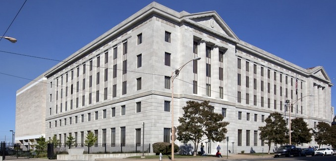 FeaturedImage_2019-01-24_WikiCommons_Exterior,_Richard_Sheppard_Arnold_U.S._Post_Office_and_Courthouse_is_a_monument_five-story_limestone_building_in_Little_Rock,_Arkansas_LCCN2010719647.tif
