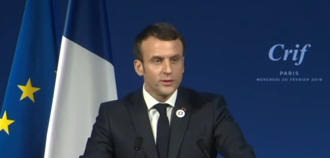 Macron Says France Will Adopt IHRA Definition of Anti-Semitism