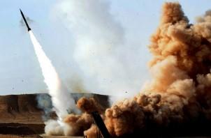 Iranian Zelzal Rocket for Hezbollah