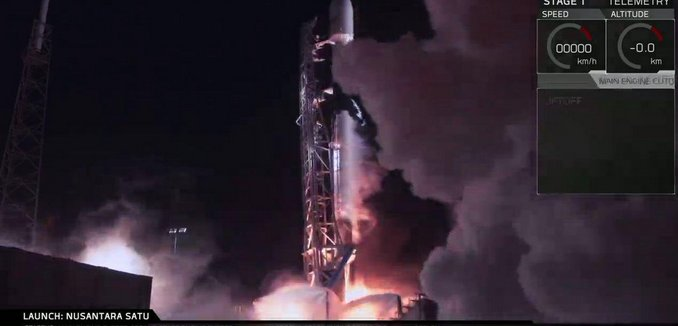 Beresheet Lifting off, going to the moon