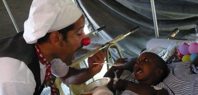 Israeli Medical Clown in Haiti