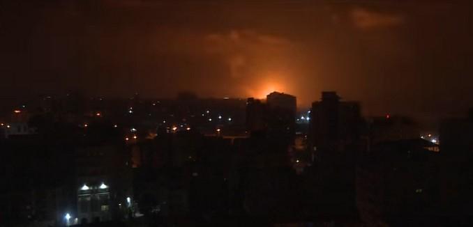 Israel Retaliates against Hamas for Rocket Attack in Tel Aviv