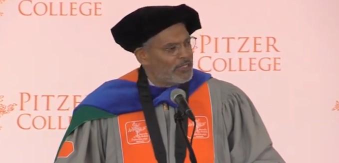 Pitzer College President Melvin Oliver