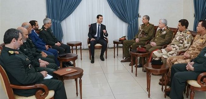 Military Leadership of Syria, Iran