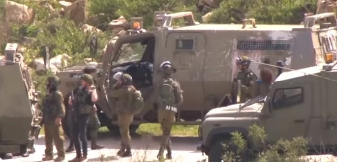 IDF Searches for Terrorist