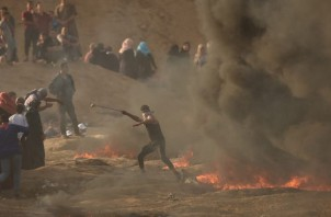 Anti-Israel Riots at Gaza Border