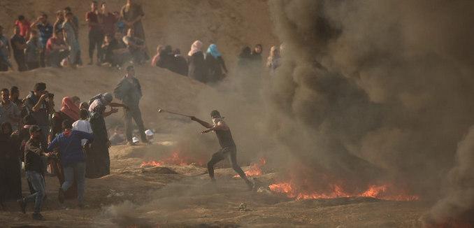 Anti-Israel Riots at Gaza Border