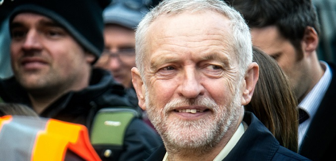 Jeremy Corbyn is the leader of the Labour Party, and possibly the next Prime Minister.